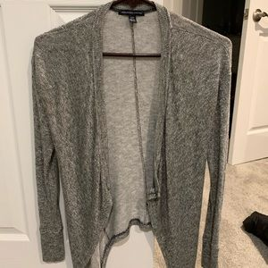 American Eagle Outfitters Gray Cardigan